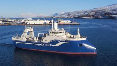 Catch handling deck contracts go to Akureyri yard