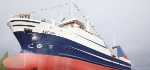 Second Murmanseld 2 trawler launched by Pella