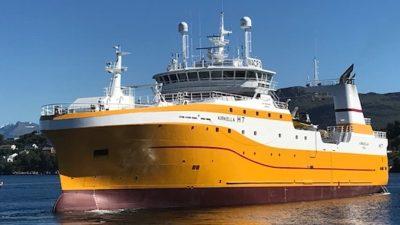 UK factory trawler's double trip