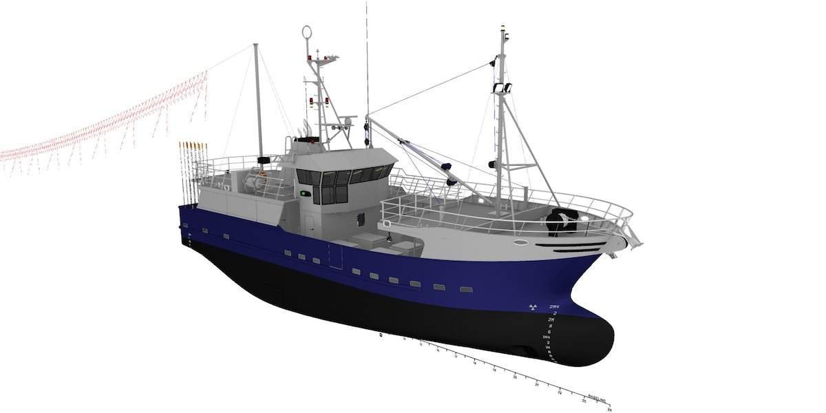 Work begins on new tuna catcher for Klokan Fishing