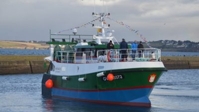 Kronos: second of Brittany trawler trio