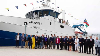 New trawler delivered to Pescanova
