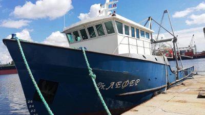 Fourth trawler for Black Sea fishing company