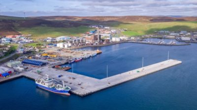 New market is latest phase in development of Lerwick's fishing industry hub