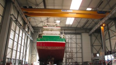 Piriou newbuild and repair services in Lorient