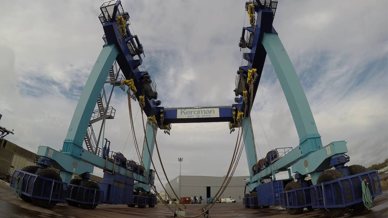 Lorient gets a new shiplift