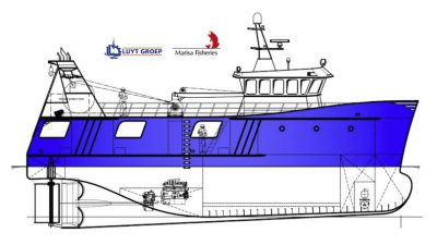 Two stern trawlers from Luyt, option for two more