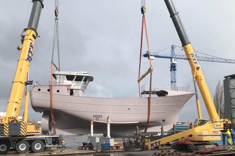 Luyt builds beamer for Ireland