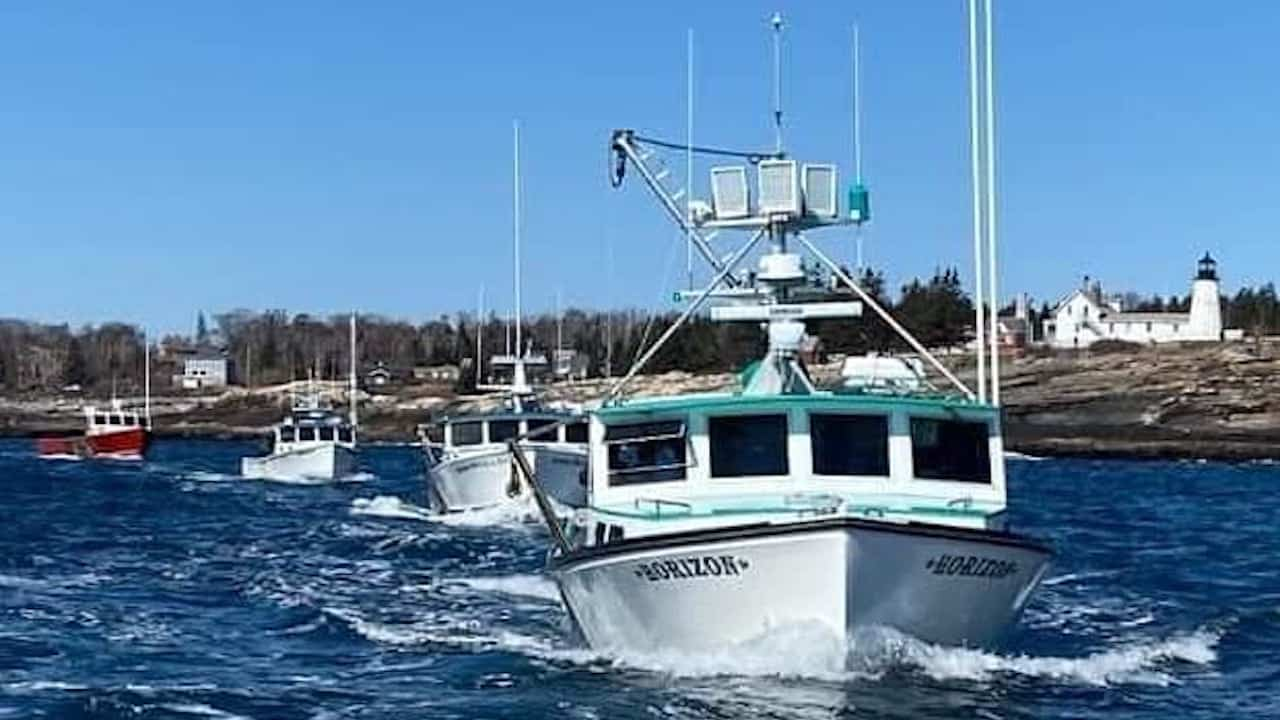 Read more about the article Maine fishermen protest against wind energy