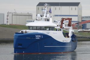 Two trawlers identical to the MDV-1 have been ordered by Dutch owners from the Hoekman and Padmos yards - @ Fiskerforum