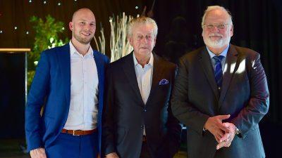 Maaskant bids farewell to director Frits van Dongen