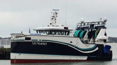 Lorient's new seiner/trawler