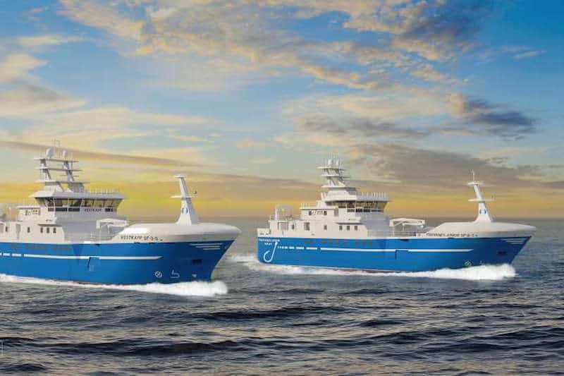 Longliner pair for Ervik