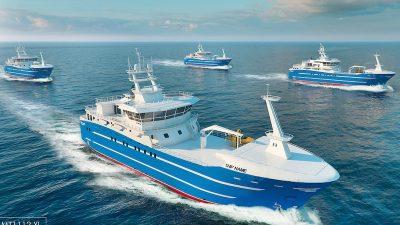Construction begins on Arkhangelsk longliner