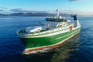 Markus is the first of two new trawlers from Freire for owners in Greenland. Image: CNP Freire - @ Fiskerforum