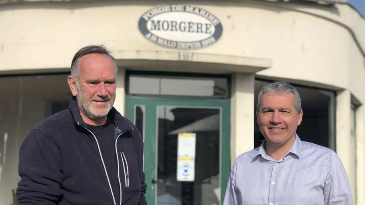 New factory, new director for Morgère