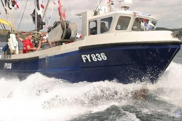Fishing Vessel Sinks Near Falmouth