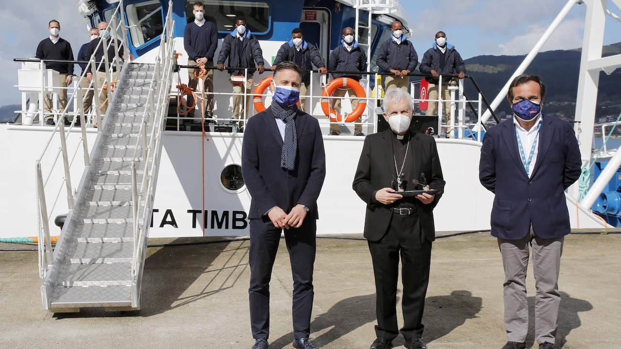 Nueva Pescanova takes delivery of Ponta Timbue