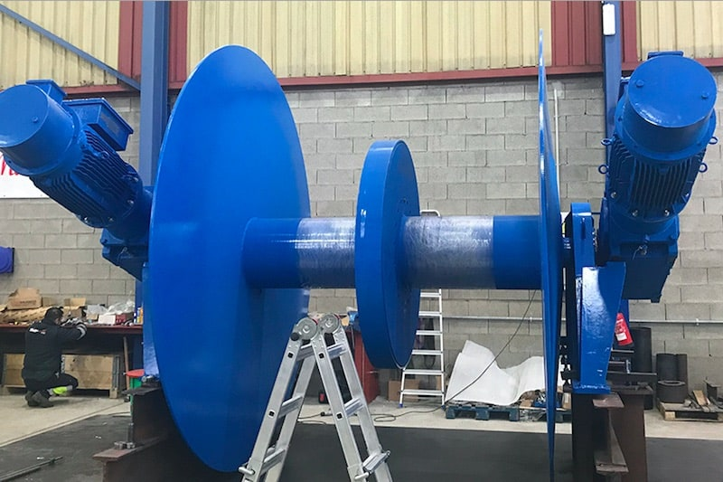 Electric winches for Dutch seiner/trawlers