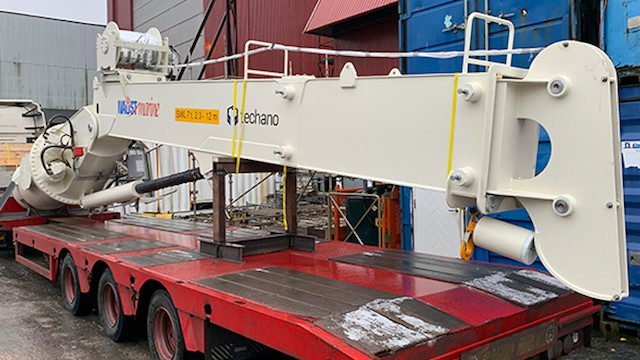 Read more about the article Naust Marine delivers Norebo fleet's cranes