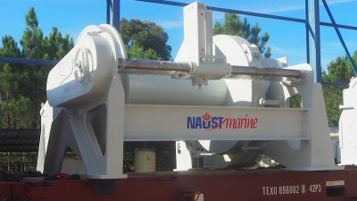 Naust Marine Spain delivers its first winches