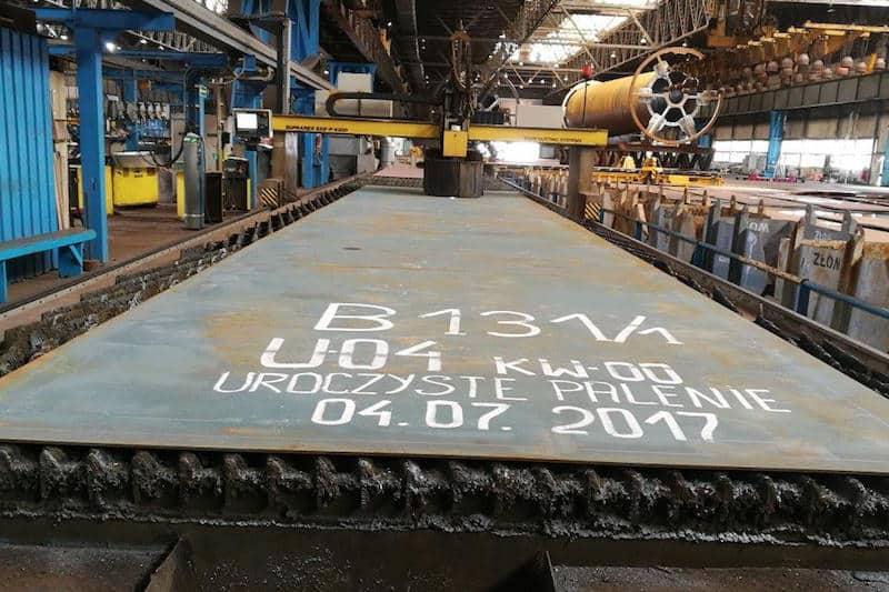 Nauta cuts steel for new pelagic trawler