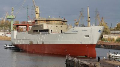 Heavyweights launched at Gdansk yard