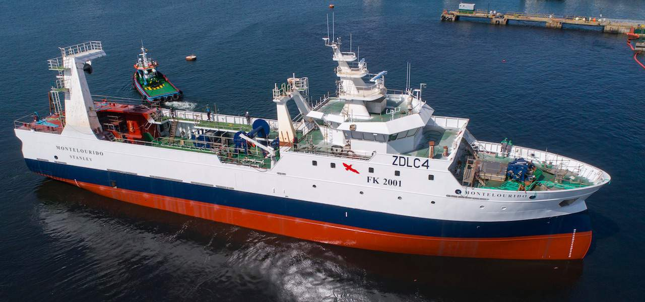 Nodosa launches Falklands trawler