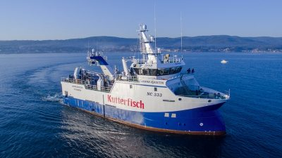 Nodosa delivers first of Cuxhaven pair