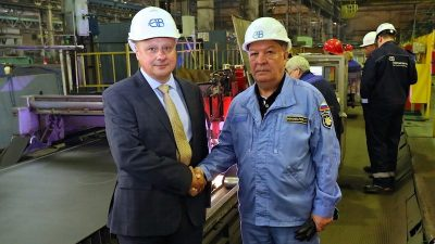 Northern Shipyard starts cutting steel for factory trawler series