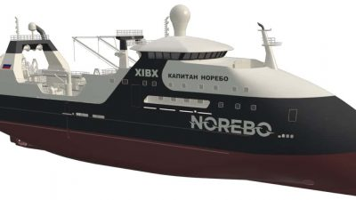 43-winch package to first Norebo trawler