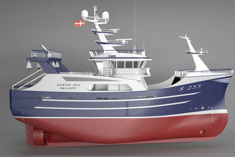 Shrimp trawler order for Karstensen