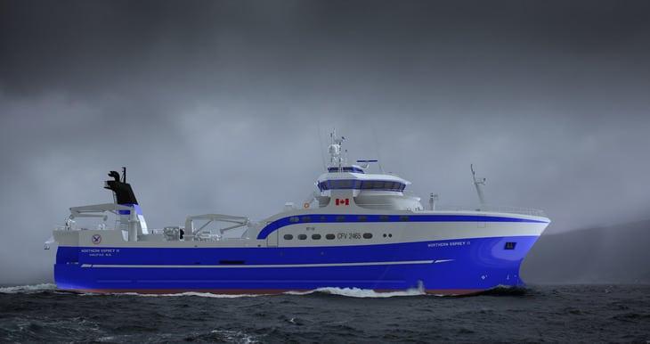 Osprey goes for third Norwegian design