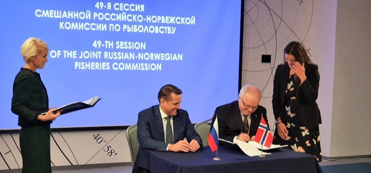 Russia-Norway agreement, modest quota increase for 2020