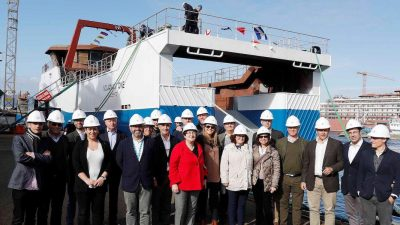 Third new trawler for Nueva Pescanova launched