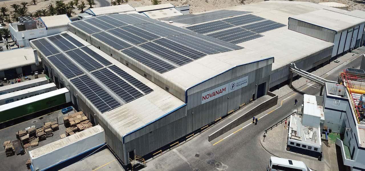 Nueva Pescanova factory goes solar