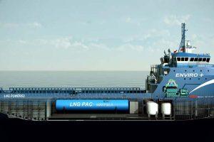 Wärtsilä's integrated gas propulsion system chosen for new offshore support vessel .  Photo: Wärtsilä - @ Fiskerforum