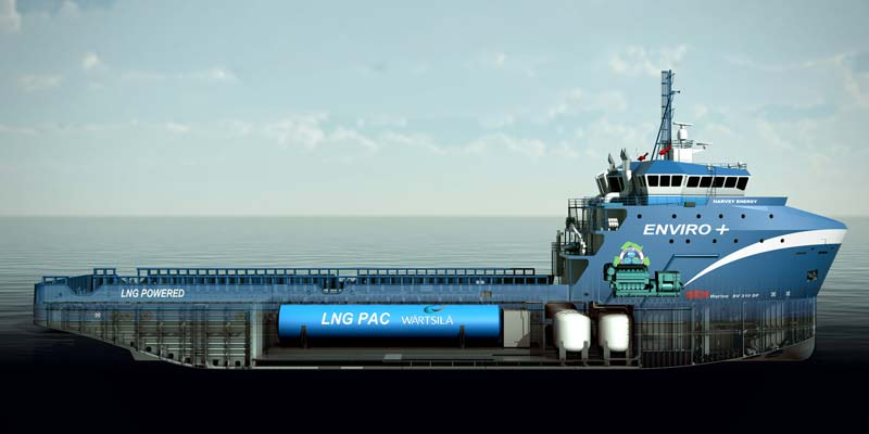 Wartsila S Integrated Gas Propulsion System Chosen For New Offshore Support Vessel Fiskerforum