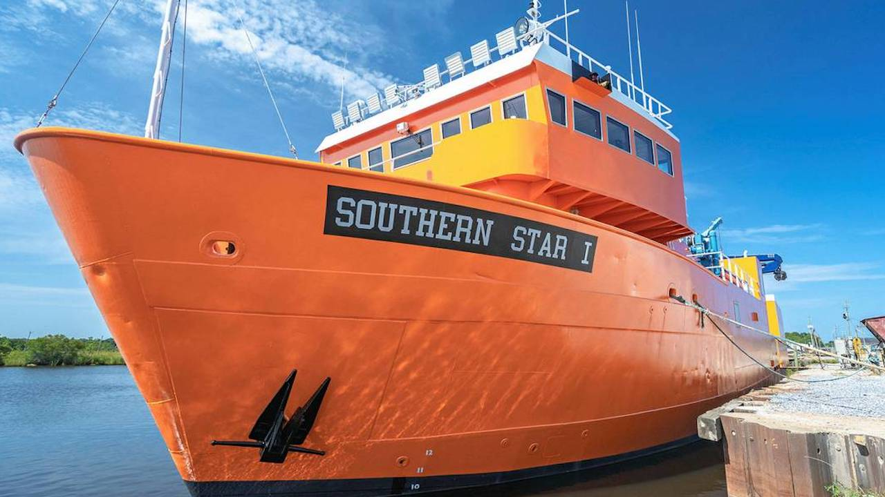 Southern Star heading for South Atlantic red crab