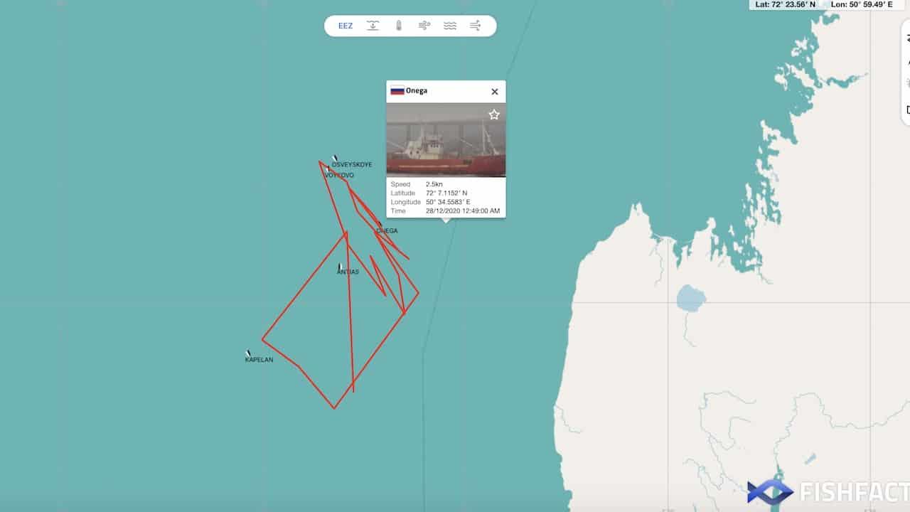 Fishing vessel lost in Barents Sea