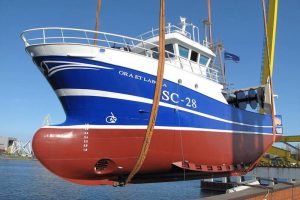 Ora et Labora SC-28 launched in Szczecin - @ Fiskerforum