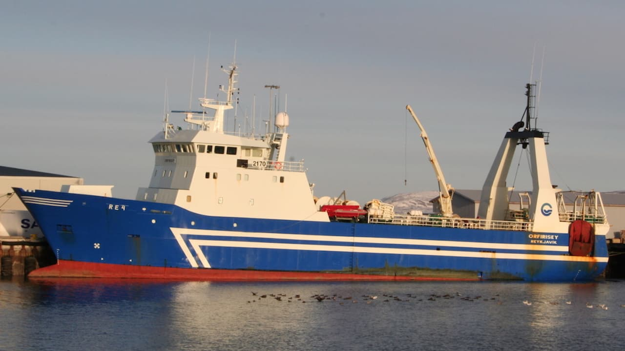 Record trip for Örfirisey