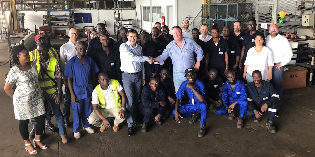 Piriou establishes Côte d'Ivoire shiprepair company