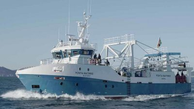 New Pescanova trawler sails for Mozambique