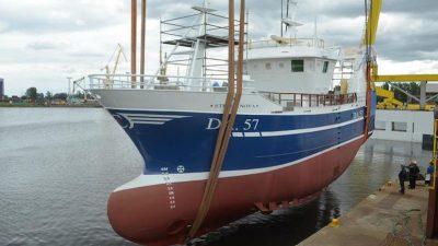 Stella Nova hits the water in Szczecin