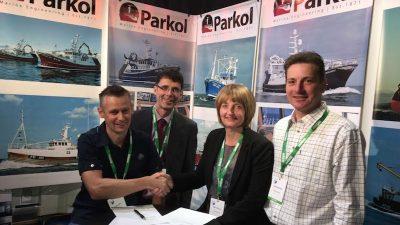 Parkol newbuild orders signed at Skipper show