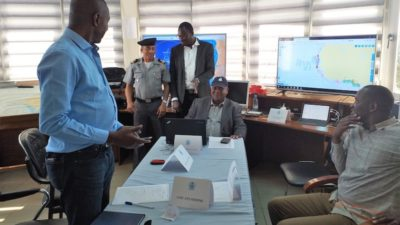 West Africa joint fisheries surveillance under EU PESCAO project