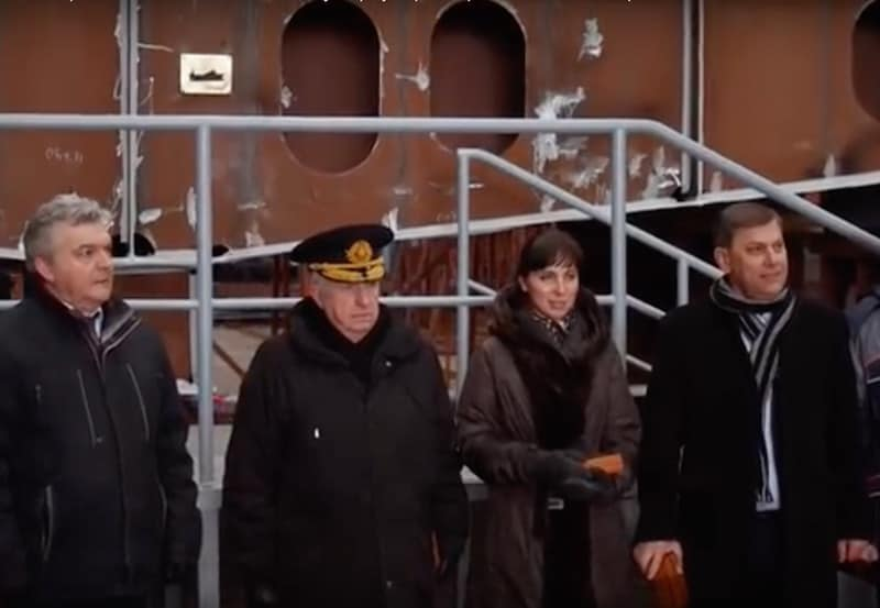Keels laid for Murmanseld 2 trawlers