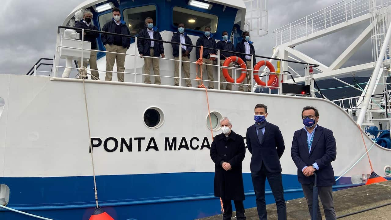 Nueva Pescanova's new trawler for Mozambique