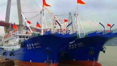 Pingtan sends newbuild trio to sea